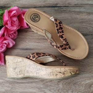 💕4for25 American Heritage Platform Sandals